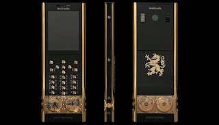 Latest cell phones in the luxury market