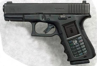 Nokia Gun Cell Phone