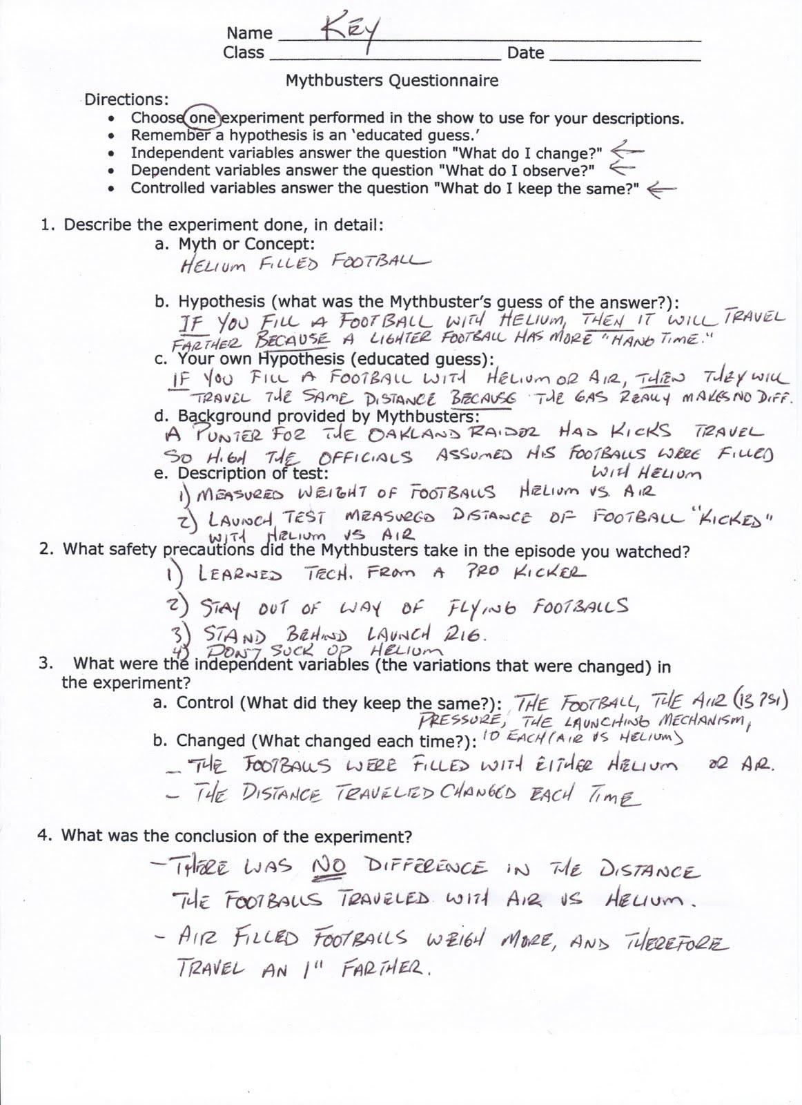 Printables Mythbusters Scientific Method Worksheet mythbusters scientific method worksheet abitlikethis worksheet