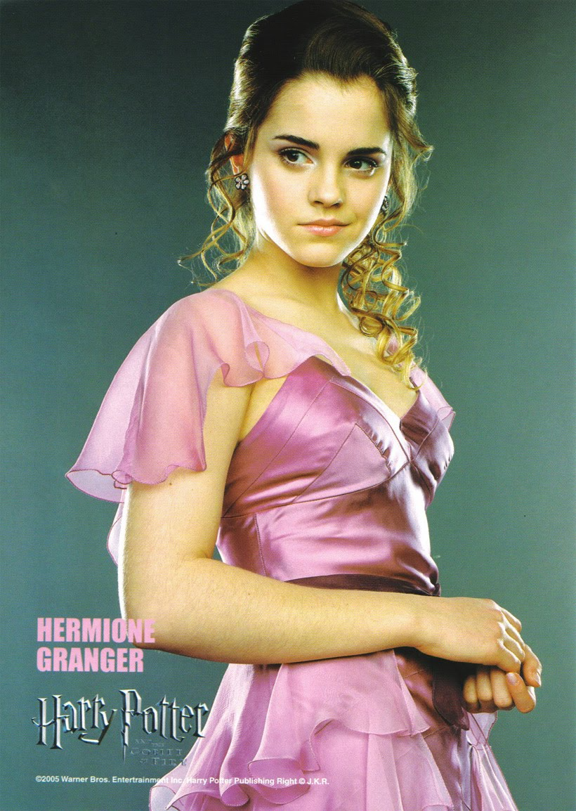 Harry Potter The Saga Emma Watson Biography