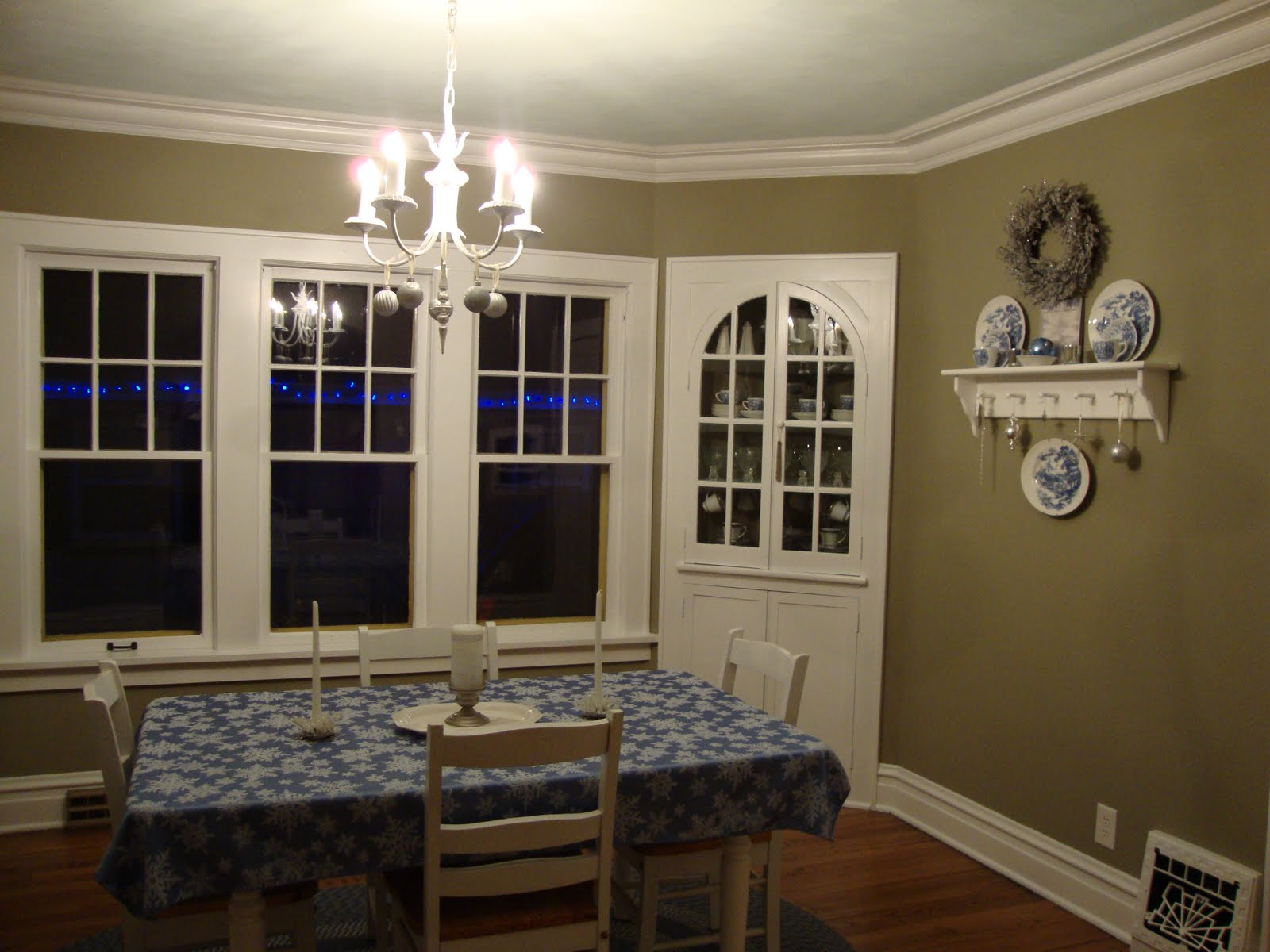 title   Dining room walls