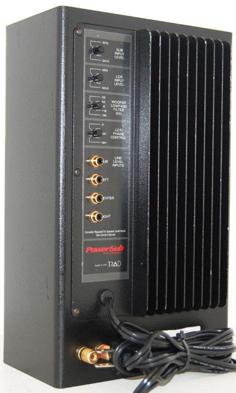 rewind audio triad powersub amplifier for passive subwoofer. Black Bedroom Furniture Sets. Home Design Ideas
