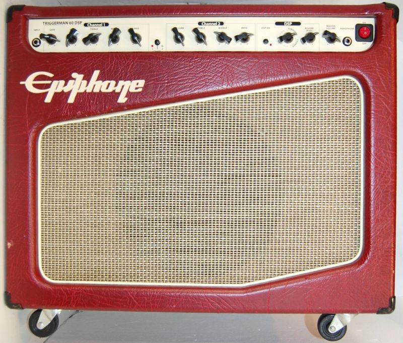 rewind audio epiphone triggerman 60 dsp electric guitar. Black Bedroom Furniture Sets. Home Design Ideas
