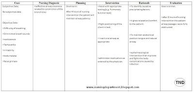 Asthma Ineffective Breathing Pattern by nurseslabsdocs