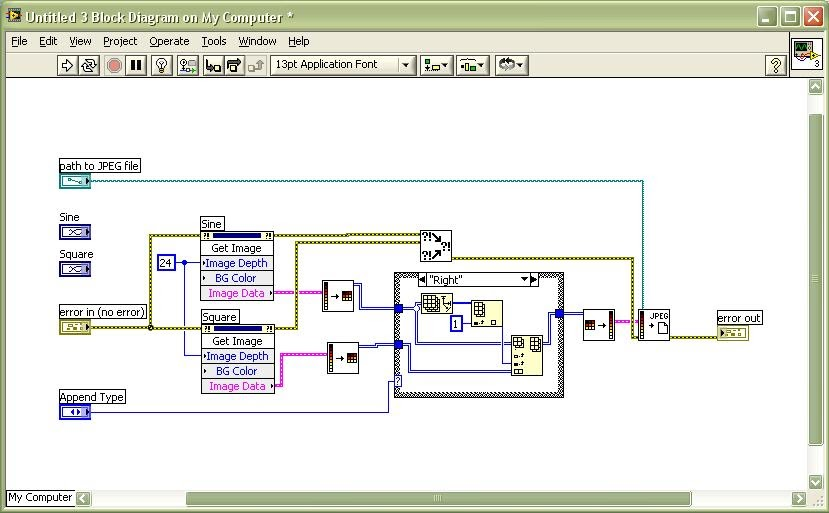 Learning Labview Journey Save Multiple Waveform Graphs Into A