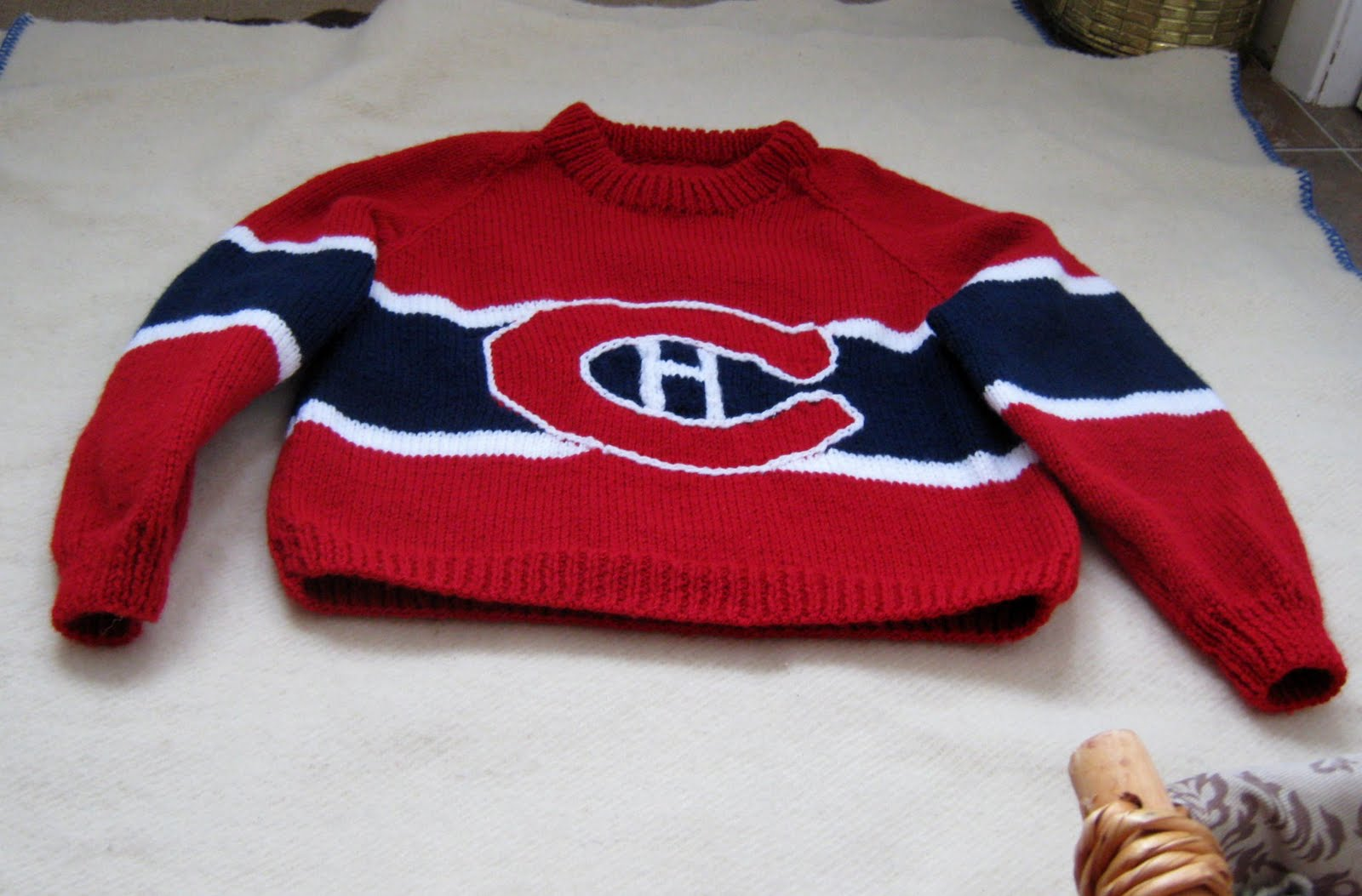 hot sale online 9522e e35e7 Nanna PEI : The Hockey Sweater