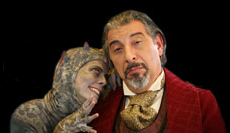 Sparrow flights The Screwtape Letters play