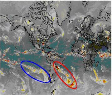 La ciclogénesis, similar a la frontogénesis, es la formación de ciclones, se produce donde la superficie frontal se deforma generándose una onda frontal.