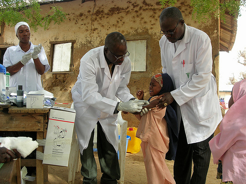 Doctors Without Borders Has Been Launching Vaccination Campaigns Against Meningitis In Africa For Years However This Year The Campaign Is Slightly
