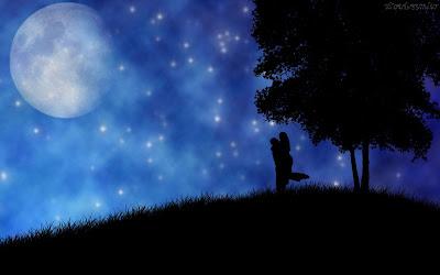 Resultado de imagem para noite de luar, noite de felicidade