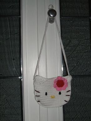 Zauberauswolle Eine Hello Kitty Tasche