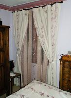 dm couvre lit et rideaux. Black Bedroom Furniture Sets. Home Design Ideas