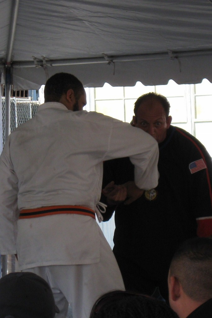 Like NASCAR, martial arts is best enjoyed when you're a participant, so I  won't post a lot of martial arts pics unless I think it can show a little  detail ...