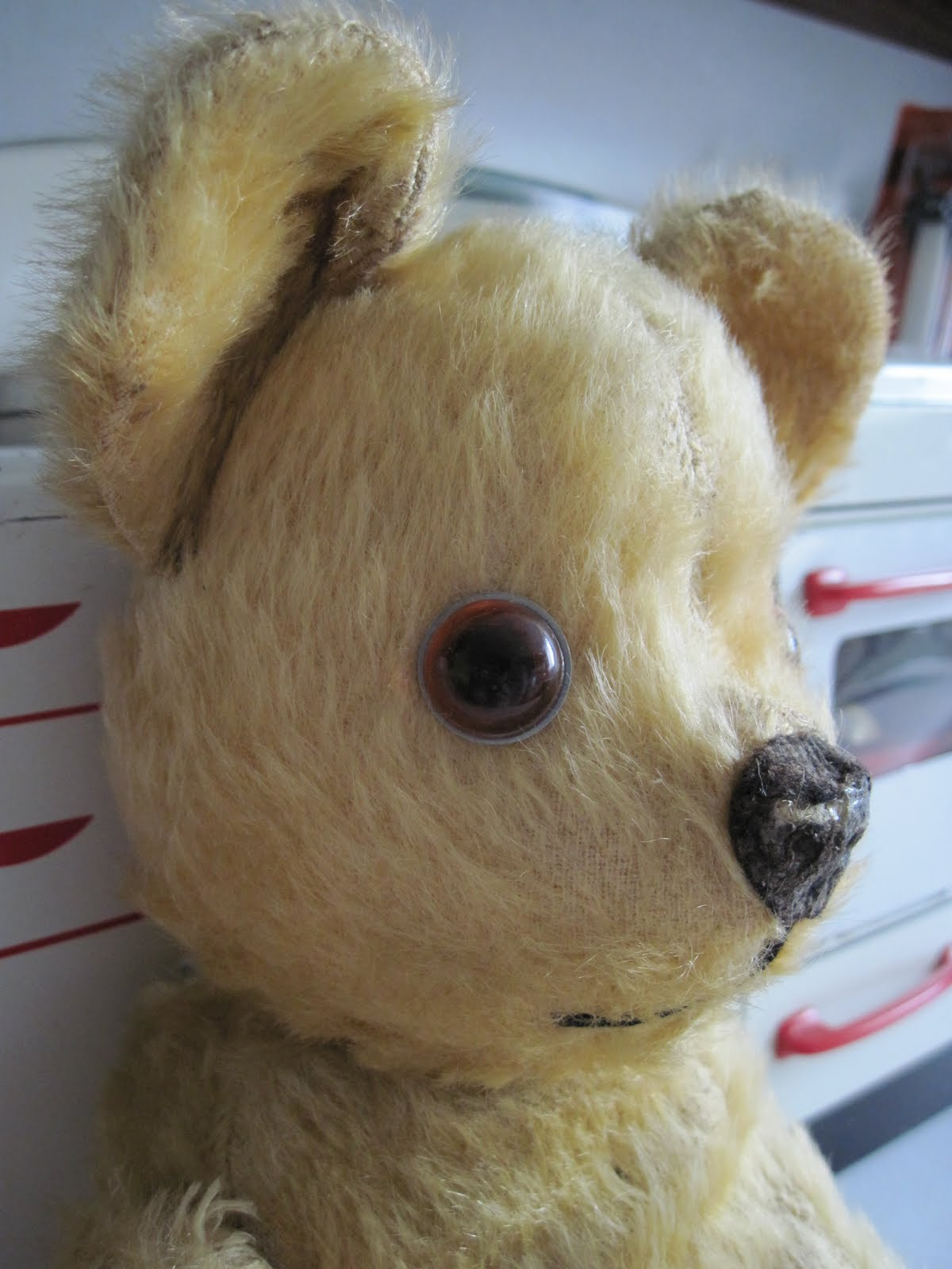 Tracy's Toys (and Some Other Stuff): 1950s Pedigree Teddy Bear