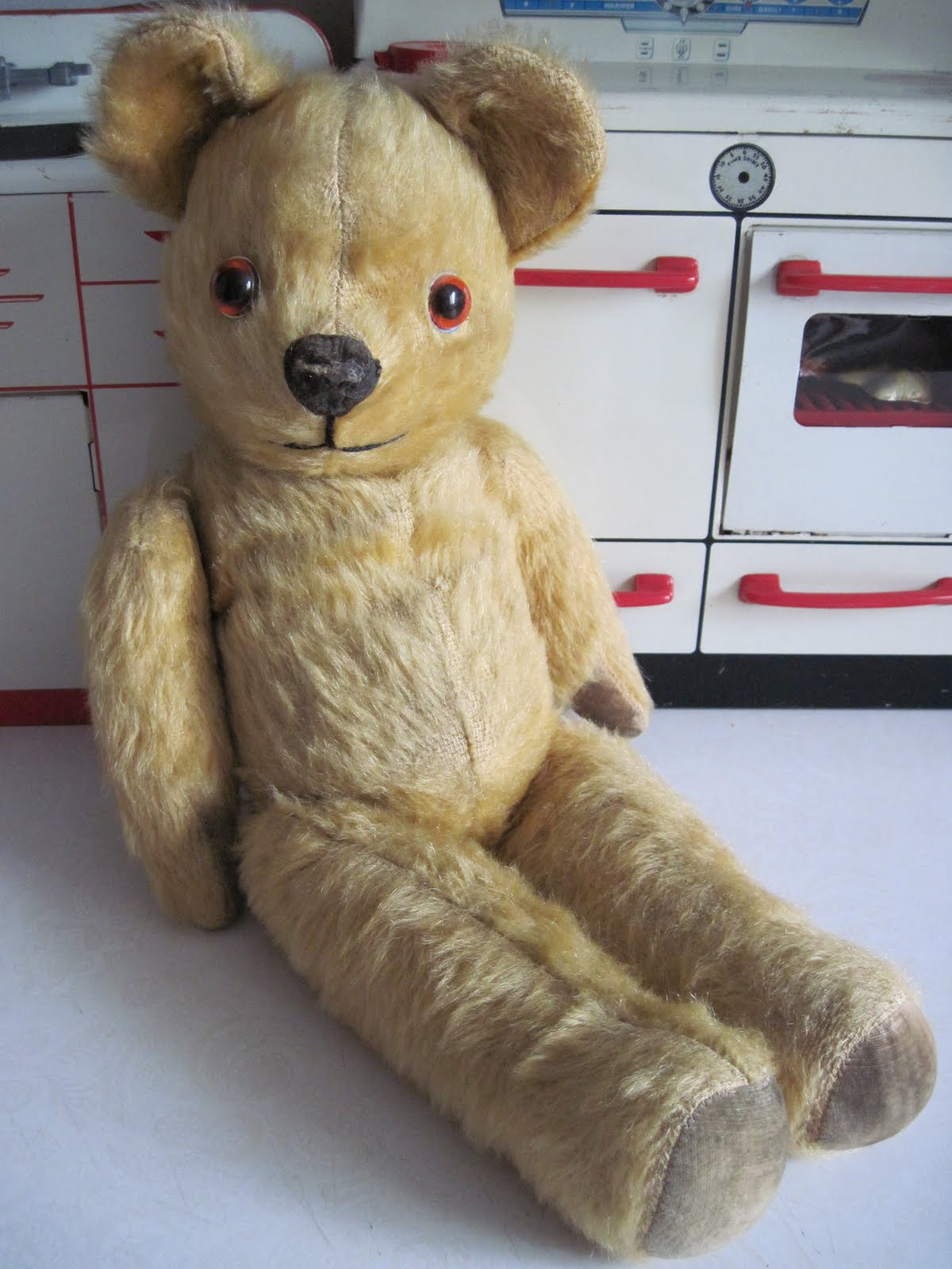 Tracy's Toys (and Some Other Stuff): 1950s Pedigree Teddy Bear