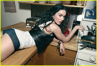 Megan Fox in a Rolling Stone sep picture