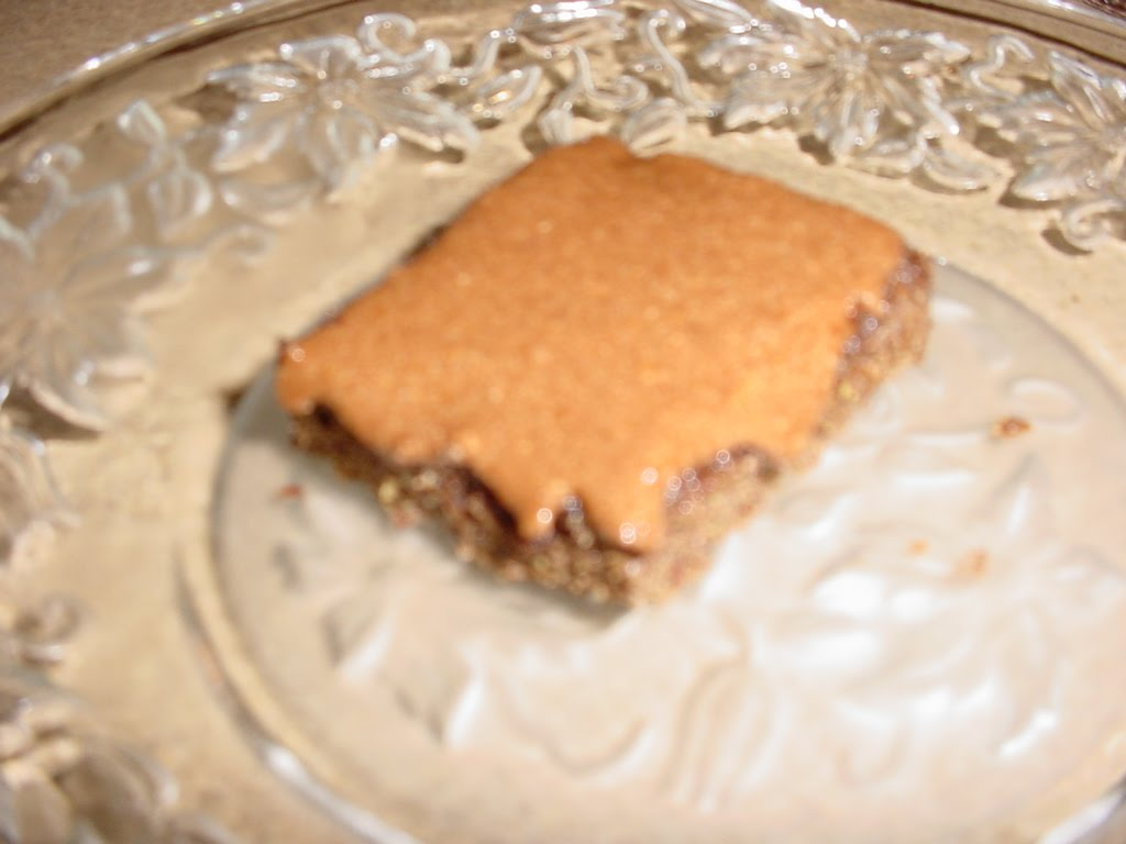 Eating Alkaline For My Health Carob Flax Brownies