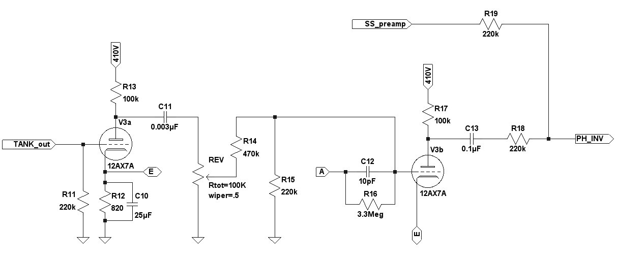 Tube Guitar Preamp Schematic on