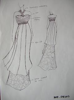 it's me: Desain Baju Pesta Mbak Adhinatalia