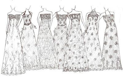 Payet Gaun Pesta Desain Baju Pesta Kebaya Modern Dan Gaun