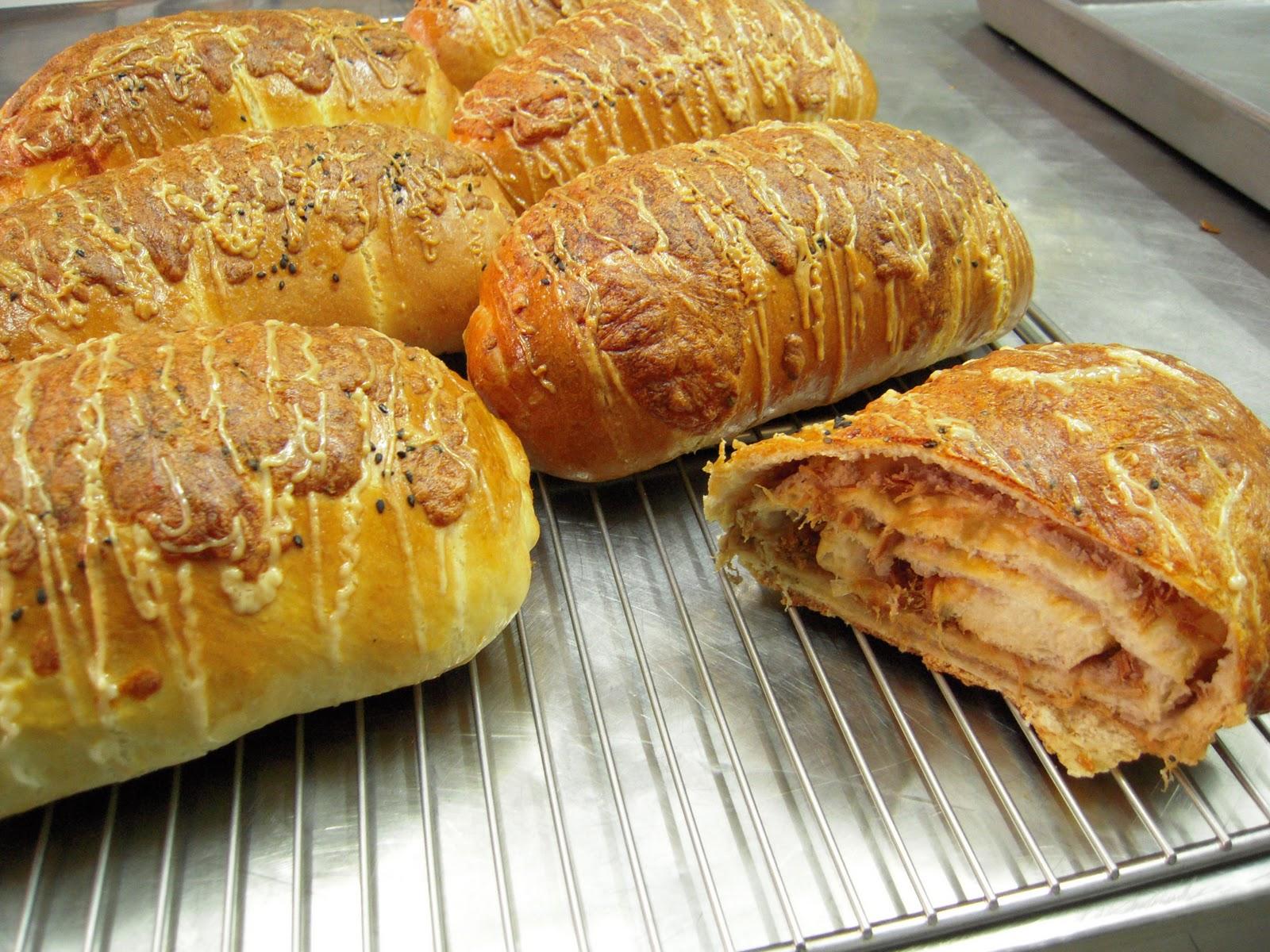 米妞的手工烘焙: 香芋麵包
