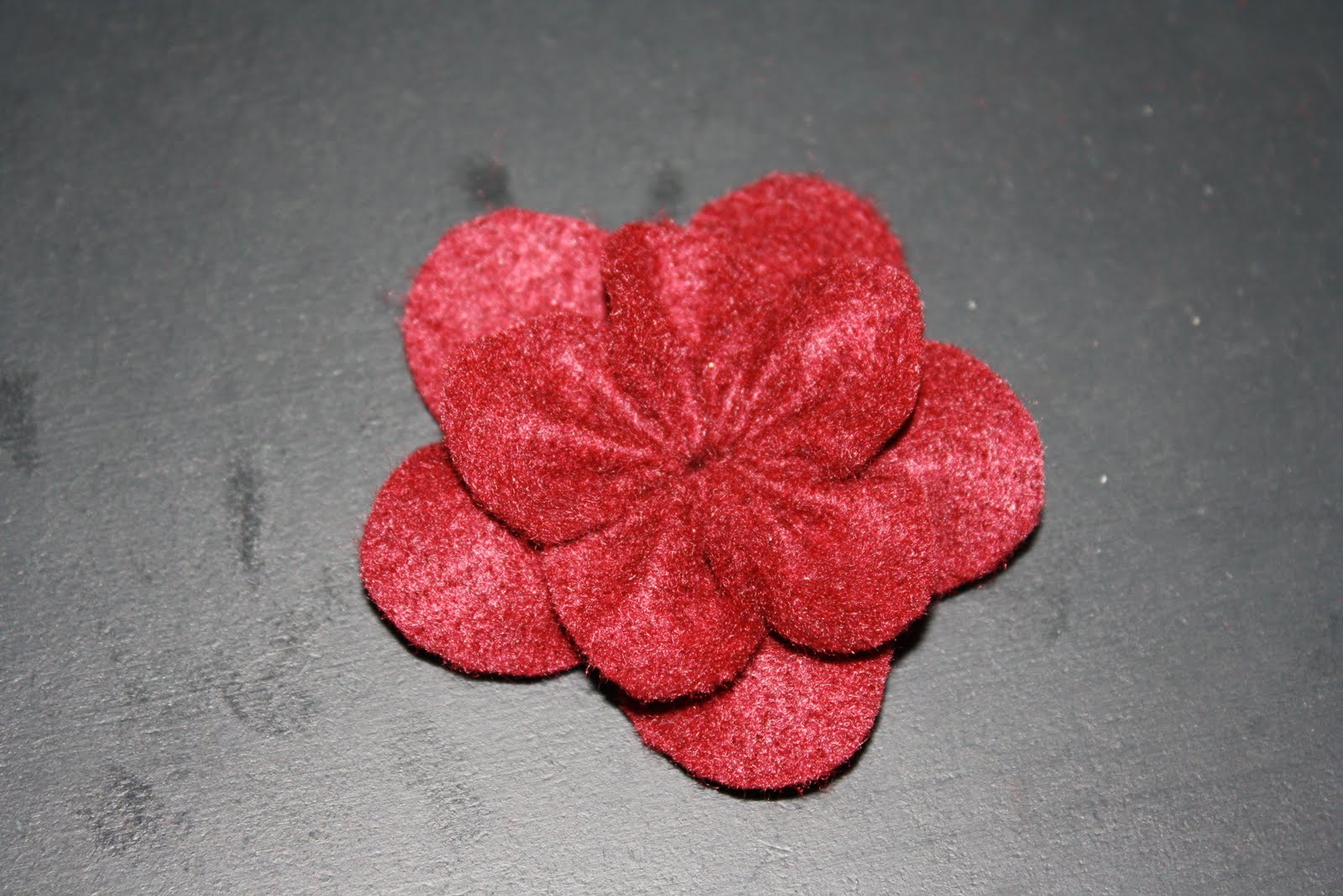 which craft: Felt Flowers