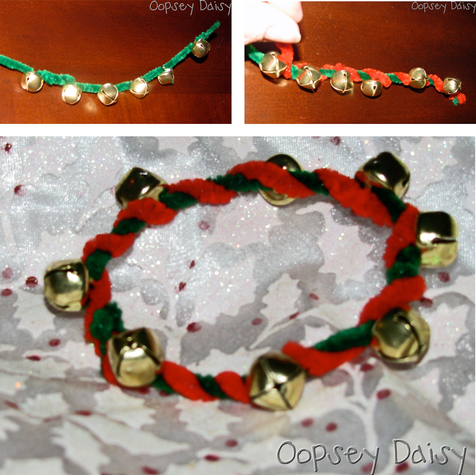 Book Advent Day 2 Jingle Bell Bracelets