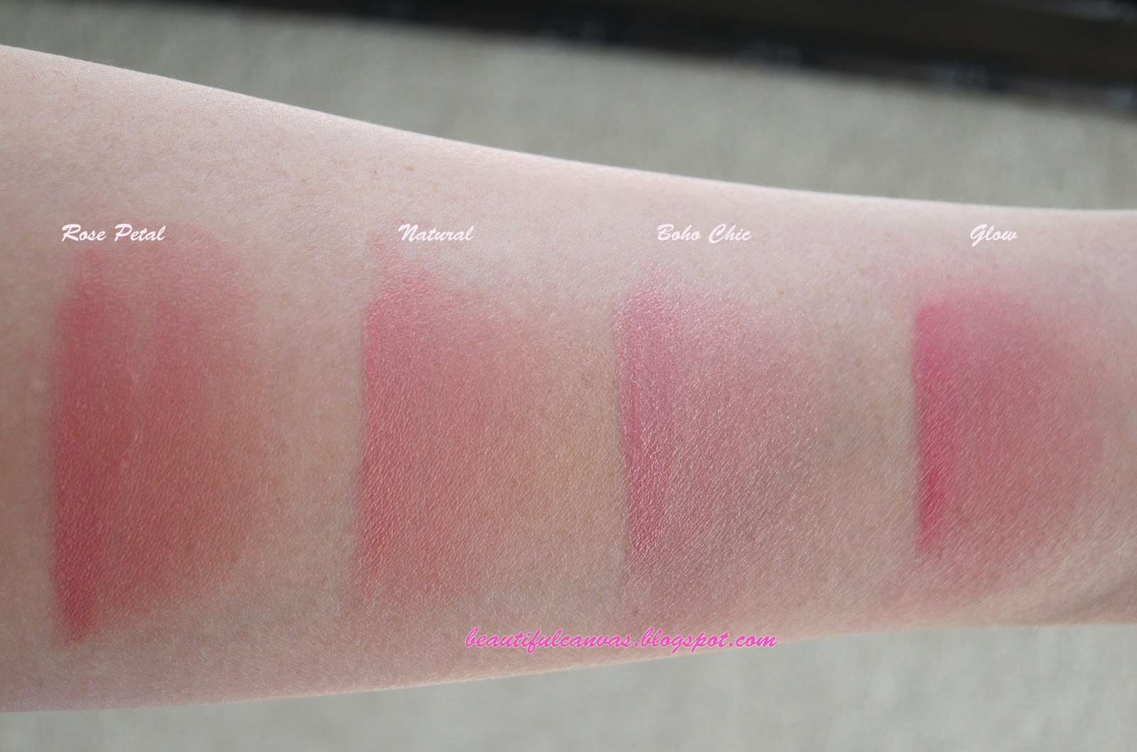 Beautiful Canvas Nyx Cream Blush Review And Swatches