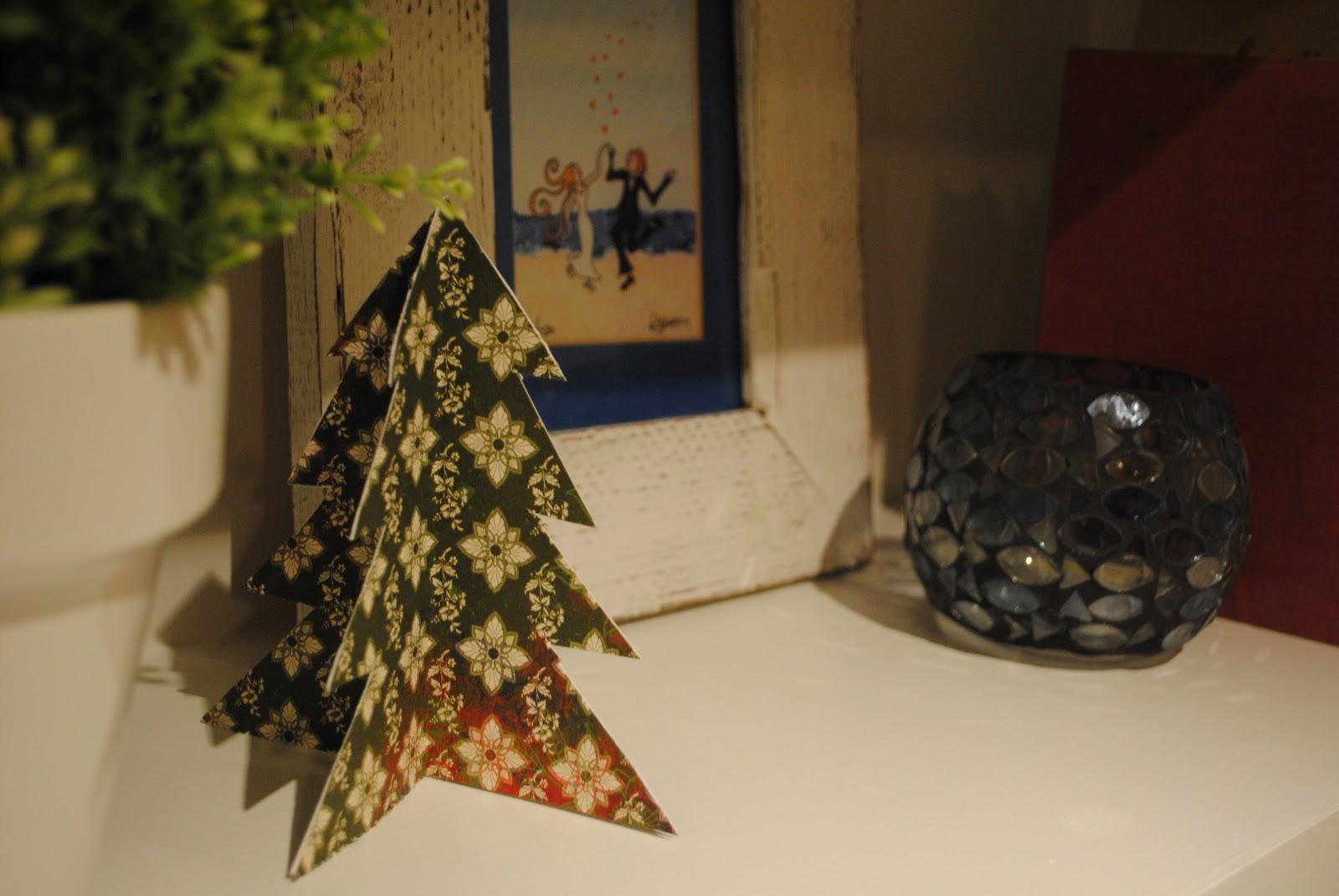 half trees on christmas