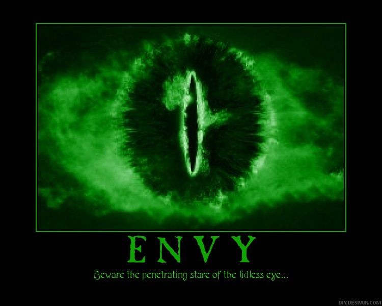 The meaning and origin of the expression: Green-eyed monster