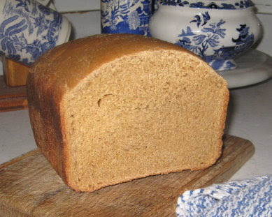 Leigh's Sourless Whole Wheat Sourdough Bread