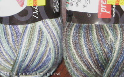 New sock yarns!