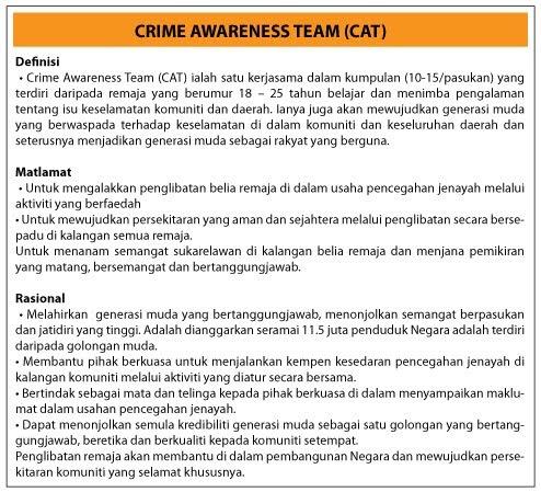 Kelab Rakan Muda Serdang Borang Pendaftaran Ahli Crime