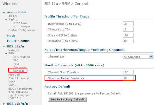 CCIE Wireless: RRM tuning