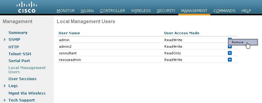 CCIE Wireless: Controller Admin password