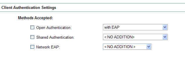CCIE Wireless: Autonomous APs: Network EAP vs  Open with EAP