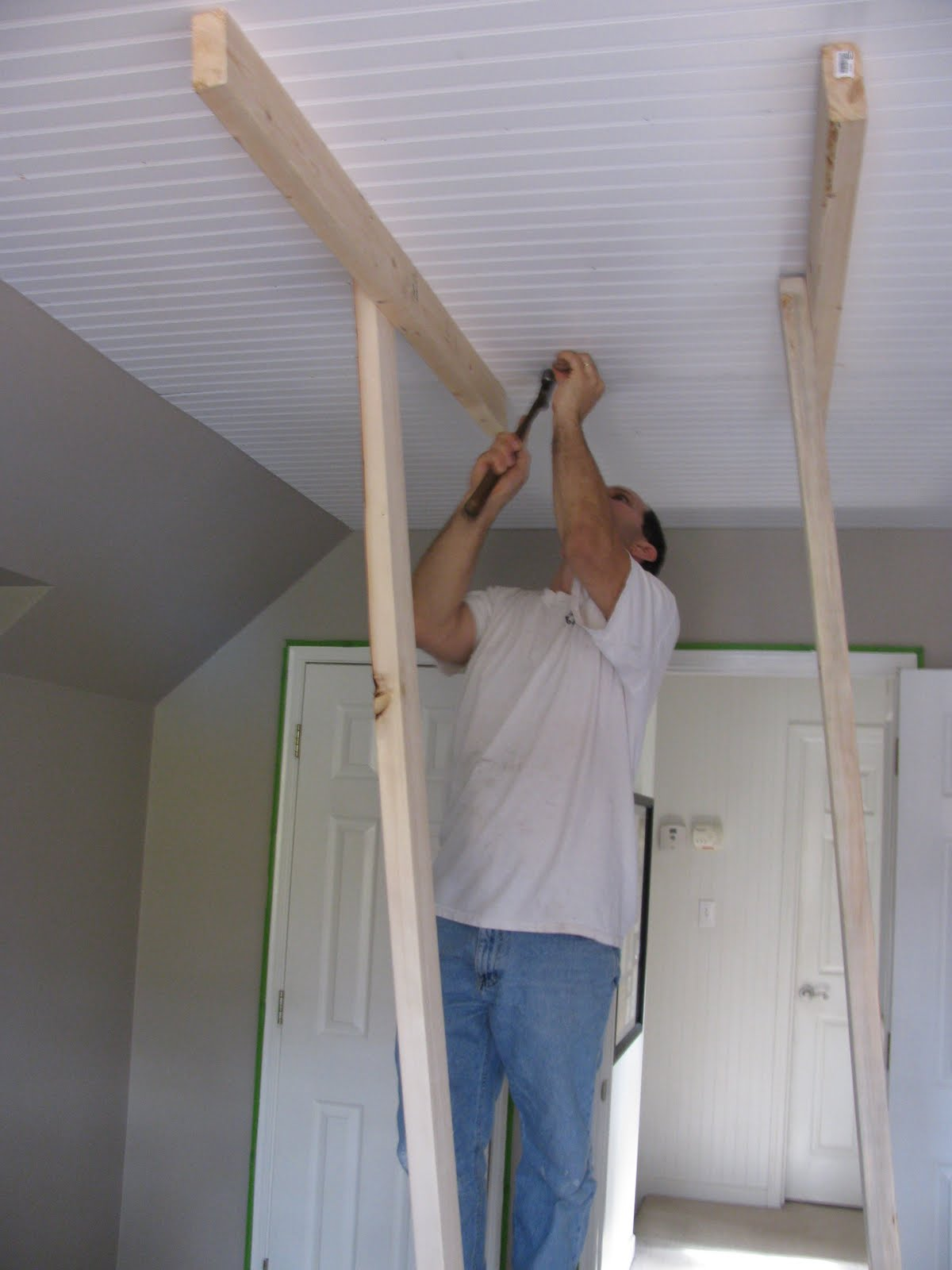is plank ceiling a bad idea - Our Creative Life Beadboard on the Ceiling e you serious
