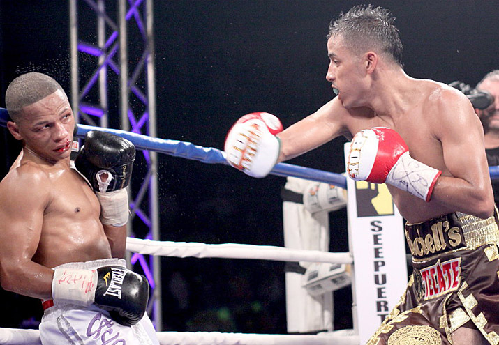 ONCE A FIGHTER: PUERTO RICO'S IRON BOY IVAN CALDERON SUBMITS TO A ...