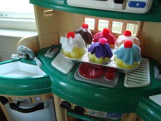 felt6 - cupcake de feltro