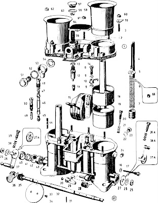 Brain And Brain: VW Engine, Exploded View