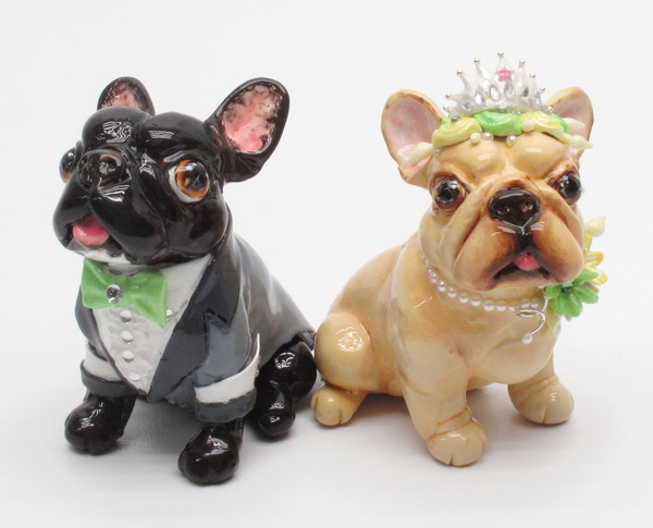 Madamepommcustomorder Kellyanne French Bulldog Wedding