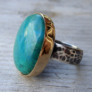 gem chrysocolla jewelry