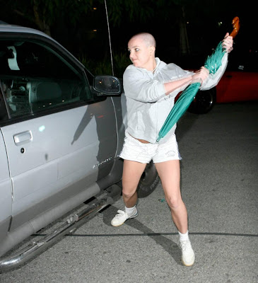 Bald,Bad, Britney Spears