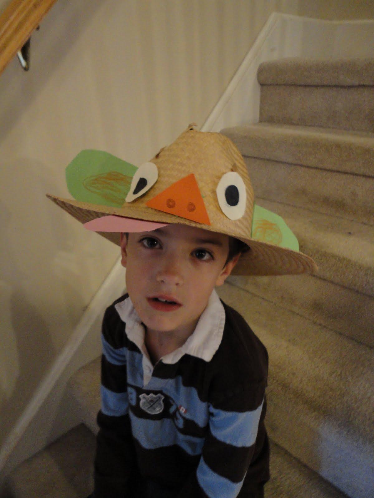 the weinhardts crazy hat day