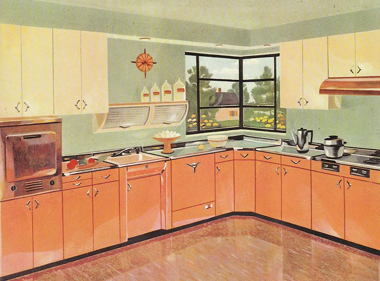 Vintage Goodness 1.0: Vintage Youngstown Steel Kitchen