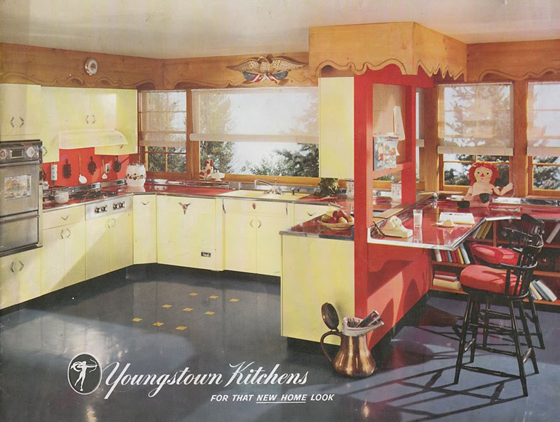 Vintage Goodness 1 0 Vintage Youngstown Steel Kitchen