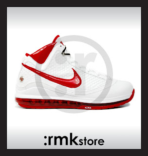 202dbdcc6ab Nike Air Max Lebron 7 VII NFW Woven Red 383578-161
