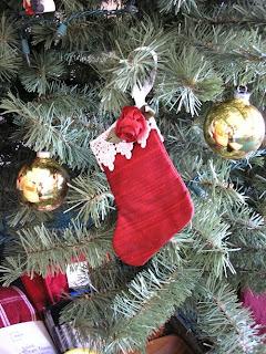 Chistmas stocking ornament