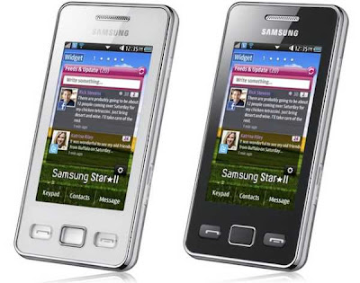 samsung s5260 star ii cell phone gadgets
