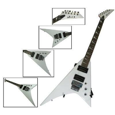 fender guitar new white flying v electric guitar stunning design. Black Bedroom Furniture Sets. Home Design Ideas